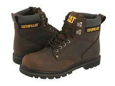 Caterpillar 2nd Shift Dark Brown Leather - Zappos.com Free Shipping BOTH Ways
