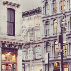 The best Soho inspirations! Unique architecture and design.