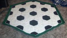 Soccer ball blanket