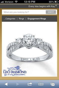 My dream ring, by Leo Diamond