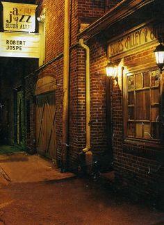 jazz club harlem alley - Google Search