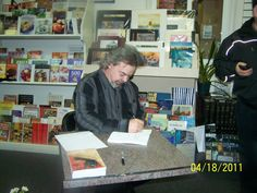 Canadian Book Signing of The Flowers of Reminiscence.