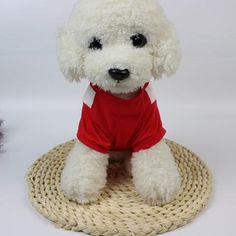 IEason Christmas Puppy Clothes Christmas Cute Dog T Shirt Pet Clothes Apparel Vests Costumes Clothing S Red *** Examine out this great item. (This is an affiliate link). Gifts For Pet Lovers, Pet Gifts, Dog Lovers, Puppy Costume, Dog Costumes, Cheap Pets, Christmas Puppy, Dog Vest, Dog Items