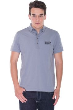 Buy online man cotton polo by Pirelli PZero  for € 27,00 on Luxyuu. Available now poloshort sleeve button closure logo composition: 100% cotton color: ash gray http://www.luxyuu.com/pirelli-pzero-cotton-polo-P20987.htm