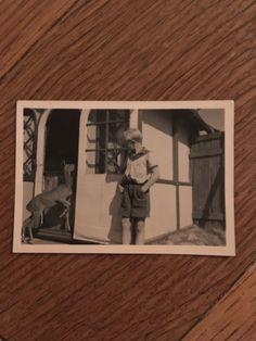 Items similar to Vintage Photo, Boy at the Farm, 014 on Etsy