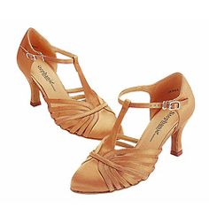 """Too gold? are there other colors? Ladies """"Regular Series"""" Smooth Ballroom Shoe - Style No 15015"""