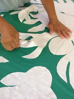 #Quilt #Tahiti Gold in your hands