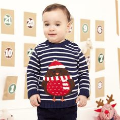 Robin Cashmere Mix Christmas Jumper, Jumpers, Tops & Knitwear, Christmas