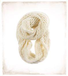 Aerie Shimmer Crochet Infinity Scarf