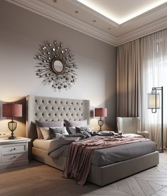 Современная классика в двухкомнатной квартире в Москве