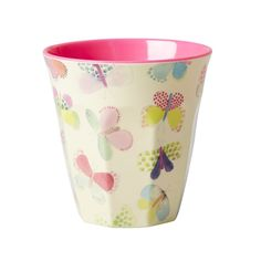 RICE Pastel Butterflies Cup - RICE Melamine Cups