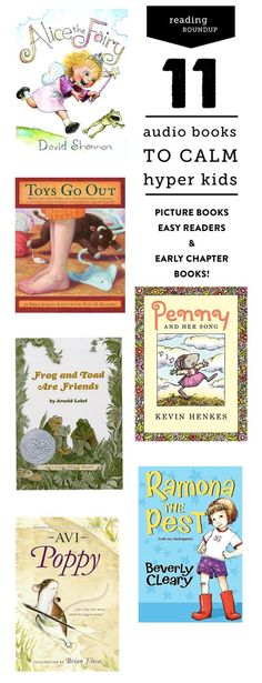 AudioBooks For Hyper Kids