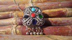 Tibetan Jewellery Tibetan Turquoise Pendant Tribal by HandyStar