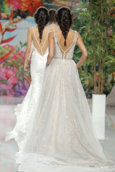 Barcelone Bridal Fashion Week! Haute Couture Galia Lahav dresses! Visit us at www.galialahav.com and @Galia Lahav on instagram!