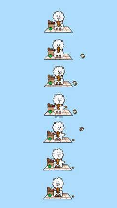 BTS | BT21 Wallpaper | RJ | pls make sure to follow me before u save it ☆ pls take out w/ full credits ♡ find more on my account ☆ #BTS #BT21 #UNIVERSTAR