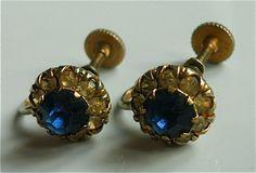 vintage earrings vintage jewelry