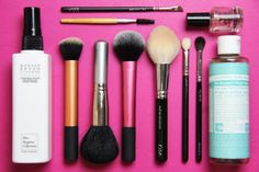 Makeup Brush Maintenance