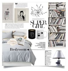 """""""Supergirl's bedroom"""" by dolly-valkyrie ❤ liked on Polyvore featuring interior, interiors, interior design, home, home decor, interior decorating, Room Essentials, Brewster Home Fashions, Shades of Grey by Micah Cohen and Dot & Bo"""