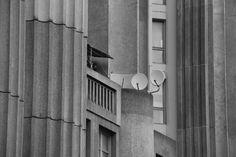 Extrait de façade Est Solitude des paraboles