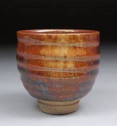 Michael Coffee - yunomi    http://www.etsy.com/listing/98326798/yunomi-tea-cup-glazed-with-iron-red-wood