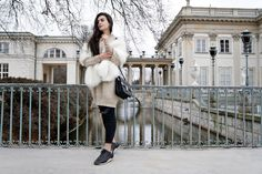 BACK FROM POLAND Inês Costa // @ineescosta instagram.com/ineescosta/   Fashion blogger, style blogger, warm outfits white bege winter, white faux fur winter outfits, Poland Warsaw
