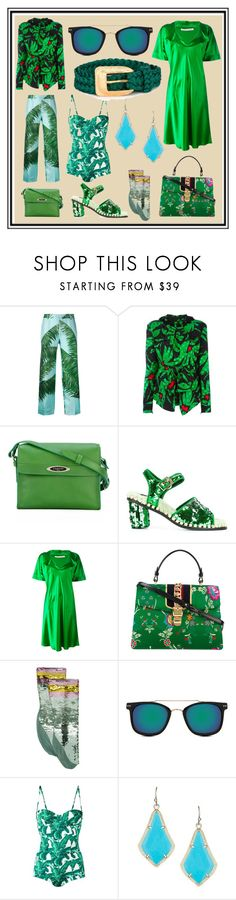 """""""Supprise Summer Sale"""" by cate-jennifer ❤ liked on Polyvore featuring F.R.S For Restless Sleepers, Balenciaga, Lanvin, Suecomma Bonnie, Stephan Janson, Gucci, Spitfire, Dolce&Gabbana, Kendra Scott and Yves Saint Laurent"""