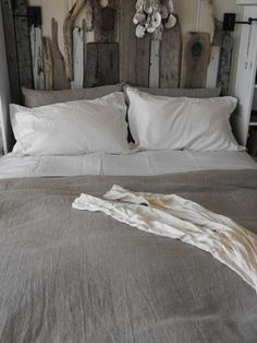 Tricia Rose - beach style - bedroom - san francisco - Rough Linen