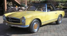 Classic Mercedes Benz convertible-perfect for Southern California