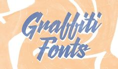 When choosing fonts, there's an unspoken consensus that typefaces should work well together and be consistent. However, mixing fonts in Doodle Lettering, Hand Lettering, Typography, Creative Market Fonts, Mixing Fonts, Hockey Posters, Photoshop Text Effects, Graffiti Font, Monogram Letters