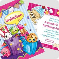 Shopkins are the hottest toys right now and quickly becoming the most popular party theme for girls. What is great about a Shopkins themed party is that there Birthday Box, Special Birthday, Free Birthday, Free Shopkins, Party Themes, Ideas Party, Felt Ornaments, Birthday Decorations, Party Invitations