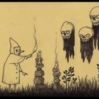 Don Kenn, Herman Cartoon, Monster Mash, Dope Art, Occult, Creepy, Graphic Art, Horror, Childhood
