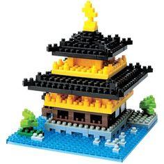 Baukästen & Konstruktion Nanoblock Kawada NBH_002 Fünf-Stöckige Pagoda von Kyoto Japan Import