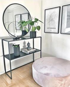 Home Room Design, Dream Home Design, Home Living Room, Living Room Decor, Bedroom Decor, Shelf Furniture, Hallway Designs, Home Decor Accessories, Cheap Home Decor