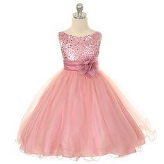 Vestidos de fiesta , Cual es el color que va con la personalidad de tu princesa?: Los románticos Rosa y fucsia