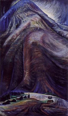 The Mountain (oil on canvas) 1933, Emily Carr