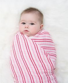 Aww! A great line of products for babies and children... soft muslin swaddles, blankets, and more. Aden + Anais - 100% Cotton Muslin Swaddles Princess Posie - 4 Pack at LuckyVitamin.com