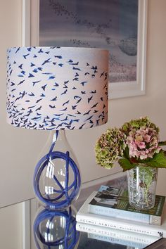 Anna Jacobs Art Inspired Interior Products   Homegirl London Anna Jacobs, Creative Inspiration, Nice Ideas, Ceiling Pendant, Lamp Bases, Lamp Design, Floral Prints, Lighting Ideas, Color