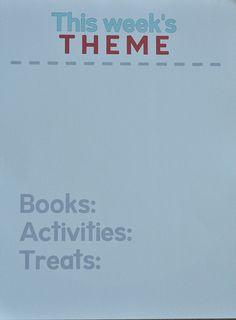 A theme a week