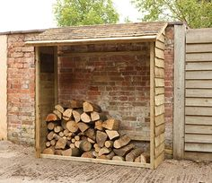 Wall Log Store by Forest, £119