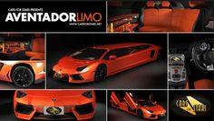 Lamborghini limo.Awesome