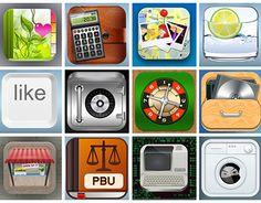 iOs mobile app icons designed by Eynav Raphael. Mobile App Icon, App Icon Design, Ios Icon, My Portfolio, New Work, Icons, Behance, Check, Symbols