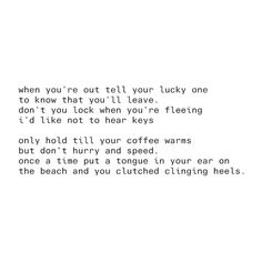 My favorite Bon Iver song. I've always loved this song. So very much.