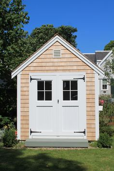 Shed Doors, She Sheds, Wood Work, Woodworking, Outdoor Structures, Gardening, Home, Lawn And Garden, Ad Home