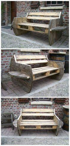 Pallet Outdoor Sofa | 1001 Pallets ideas ! | Scoop.it
