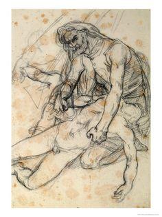 Theodore Gericault, Medusa Study