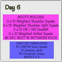 Day 6 Ashy Bines Booty Challenge Fit Girl Motivation, Fitness Motivation, Workout Challenge, Workout Ideas, Health And Nutrition, Health Fitness, Ashy Bines, Weighted Squats, Energy Fitness