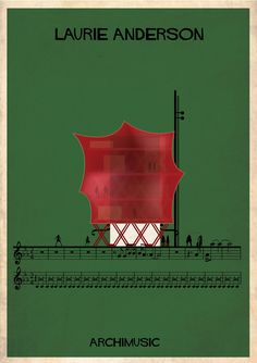 Gallery - ARCHIMUSIC: Illustrations Turn Music Into Architecture - 10