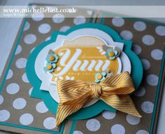 Friendship Preserves from Stampin' Up! using a sketch from Stamping & Bloggging