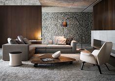 Powell di Minotti | Divani e Poltrone - Arredamento | Mollura Home Design