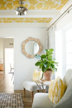 Quick tips for keeping that Fiddle Leaf Fig healthy and vibrant via Style Me Pretty Living